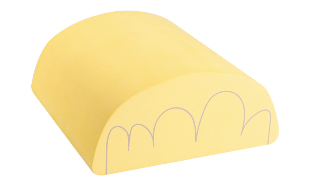 Bump - The tilting accessory - Soft Yellow